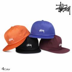 ステューシー STUSSY キャップ 帽子 メンズ スナップバック STOCK POLY COTTON SNAPBACK 131806