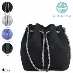 チャチュカ ショルダーバッグ CHUCHKA バケットバッグ ビーチバッグ ミニポーチ付き レディース BUCKET BAG