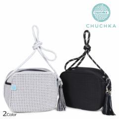チャチュカ ショルダーバッグ CHUCHKA バケットバッグ ビーチバッグ レディース SHOULDER BAG ブラック グレー