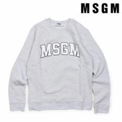 MSGM エムエスジーエム トレーナー スウェット レディース LONG SLEEVED SHIRTS グレー 2541MDM163 184769