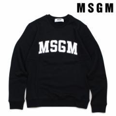 MSGM エムエスジーエム トレーナー スウェット レディース LONG SLEEVED SHIRTS ブラック 2541MDM163 184799