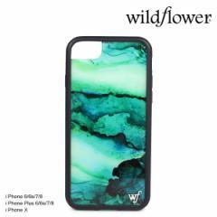 wildflower ケース スマホ iPhone8 X ワイルドフラワー iPhone ケース 7 6s 6 Plus アイフォン レディース ハンドメイド
