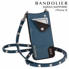 BANDOLIER バンドリヤー iPhoneX ケース スマホ アイフォン SARAH SAPPHIRE レザー メンズ レディース