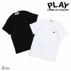 コムデギャルソン PLAY Tシャツ 半袖 COMME des GARCONS レディース BLACK HEART T-SHIRT ブラック ホワイト AZT201