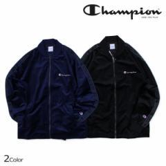 チャンピオン Champion ジャージ ジャケット フルジップ メンズ FULL ZIP JACKET ブラック ネイビー C3-N609