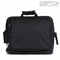ディスパッチ DSPTCH バッグ メッセンジャーバッグ ショルダー TECH MESSENGER 20L メンズ レディース ブラック PCK-TM