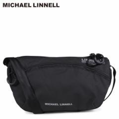 マイケルリンネル MICHAEL LINNELL ショルダーバッグ メンズ レディース ミニショルダー MINI SHOULDER ブラック MLAC-11