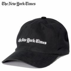 ニューヨークタイムズ The New York Times キャップ 帽子 メンズ スナップバック LOGO BALL CAP ブラック
