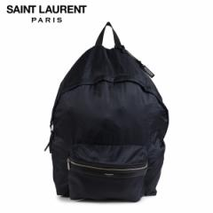 サンローラン パリ SAINT LAURENT PARIS バッグ メンズ レディース バックパック リュック DOUBLE TOP ZIP BACKPACK ブラック 524903 9RP