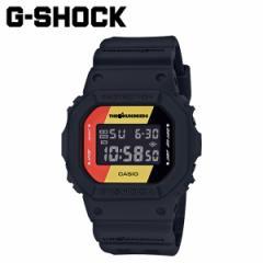カシオ CASIO G-SHOCK 腕時計 DW-5600HDR-1JR THE HUNDREDS コラボ ブラック メンズ レディース