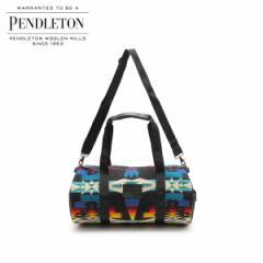 ペンドルトン PENDLETON バッグ ボストンバッグ ROUND GYM BAG メンズ レディース ブラック GA261