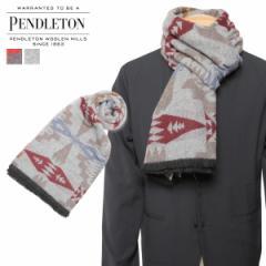 ペンドルトン PENDLETON マフラー メンズ レディース 大判 ウール OVERSIZED WRAP チャコール グレー GS757