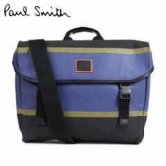ポールスミス Paul Smith バッグ メッセンジャーバッグ メンズ MESSENGER BAG ブラック ASXD 5007 L841
