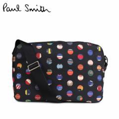 ポールスミス Paul Smith バッグ メッセンジャーバッグ メンズ MESSENGER BAG ブラック
