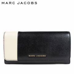 マークジェイコブス MARC JACOBS 財布 長財布 レディース レザー SAFFIANO METAL LETTERS FLAP CONTINENTAL ブラック M0013590