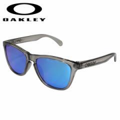 オークリー Oakley サングラス フロッグスキン アジアンフィット メンズ レディース Frogskins ASIA FIT グレーインク OO9245-42