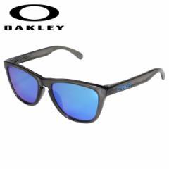 オークリー Oakley サングラス フロッグスキン アジアンフィット メンズ レディース Frogskins ASIA FIT グレー OO9245-7454