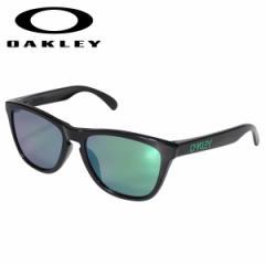 オークリー Oakley サングラス フロッグスキン アジアンフィット メンズ レディース Frogskins ASIA FIT ブラック OO9245-6454