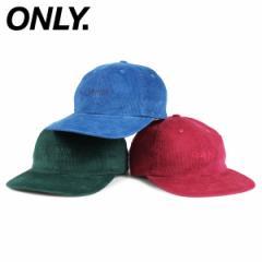 ONLY NY オンリーニューヨーク キャップ 帽子 メンズ レディース コーデュロイ LODGE CORDUROY POLO HAT ブルー グリーン ピンク