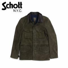ショット Schott ジャケット M51 ミリタリージャケット メンズ MENS SUEDE M-51 JACKET オリーブ 258
