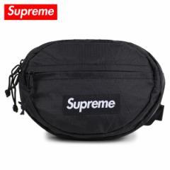 シュプリーム Supreme バッグ ウエストポーチ メンズ レディース 1.2L WAIST BAG ブラック 12/21 新入荷