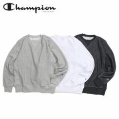 チャンピオン Champion トレーナー リバースウィーブ スウェット メンズ レディース REVERSE WEAVE CLEW NECK SWEAT ホワイト グレー チ