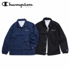チャンピオン Champion ジャケット コーチジャケット メンズ レディース COACH JACKET ブラック ネイビー C3-K604 [2/4 新入荷]