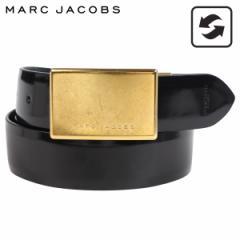 マークジェイコブス MARC JACOBS ベルト レザーベルト メンズ 本革 リバーシブル MJ REGIMENT BELT ブラック S84TP0158