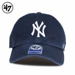 47Brand フォーティーセブン クリーンナップ キャップ 帽子 ヤンキース キッズ レディース ネイビー B-RGW17GWS-HM-KIDS 4/12 新入荷