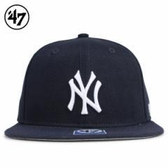 47Brand フォーティーセブン クリーンナップ キャップ 帽子 ヤンキース キッズ レディース ネイビー B-LTSHT17WBP-NY 4/12 新入荷