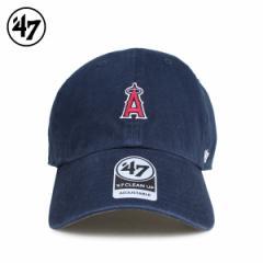47Brand フォーティーセブン クリーンナップ キャップ 帽子 エンゼルス メンズ レディース ネイビー B-BSRNR04GWS-NY 4/10 新入荷