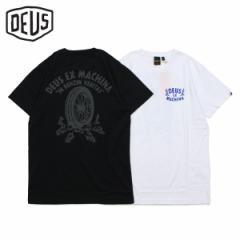 デウスエクスマキナ Deus ex Machina Tシャツ 半袖 メンズ PRAISE T-SHIRT ブラック ホワイト 黒 白 DMP91752 4/18 新入荷
