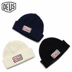 デウスエクスマキナ Deus ex Machina ニットキャップ ニット帽 ビーニー メンズ レディース OKAY BEANIE ブラック ホワイト ネイビー 黒