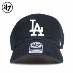 47Brand フォーティーセブン クリーンナップ キャップ 帽子 ドジャース メンズ レディース ブラック B-RGW12GWS-BKD 4/5 新入荷