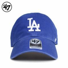 47Brand フォーティーセブン クリーンナップ キャップ 帽子 ドジャース メンズ レディース ブルー B-RGW12GWS-RYN 4/5 新入荷