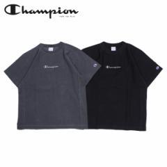 チャンピオン Champion Tシャツ 半袖 リバースウィーブ メンズ レディース REVERSE WEAVE T-SHIRT ブラック ダークグレー C3-P321 [4/2