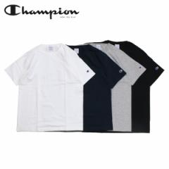 チャンピオン Champion Tシャツ 半袖 メンズ レディース T1011 US T-SHIRT ブラック ホワイト グレー ネイビー 黒 白 C5-P301 [4/30 追加
