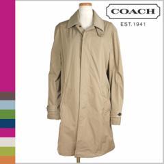 コーチ COACH コート ロングコート トレンチコート レディース F82169 ダークカーキ