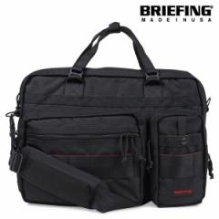 ブリーフィング BRIEFING バッグ ブリーフケース ビジネスバッグ メンズ B4 OVER TRIP ブラック BRF117219 [3/11 再入荷]