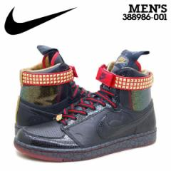 NIKE DYNASTY HIGH PREMIUM QK LE MIGHTY CROWN ナイキ ダイナスティー スニーカー 横浜レゲエ15周年&横浜開港150周年記念モデル 388986-