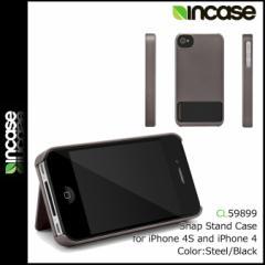 インケース INCASE アイフォンケース Snap Stand Case #CL59899 スティール ブラック グッズ ケース STEEL BLACK i Phone CASE APPLE MAC