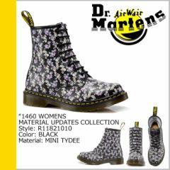 ドクターマーチン 8ホール 1460 レディース Dr.Martens ブーツ WOMENS MATERIAL UPDATES R11821010 メンズ