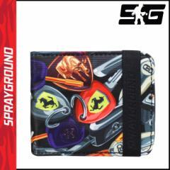 スプレーグラウンド SPRAY GROUND カードケース パスケース グッズ W018 マルチカラー Im RICH KEYS メンズ レディース 【ネコポス可】