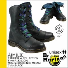 ドクターマーチン 9ホール メンズ レディース Dr.Martens ブーツ 2WAY AIMILIE R15313001