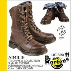 ドクターマーチン Dr.Martens 9ホール ブーツ 2WAY AIMILIE R15313201 メンズ レディース