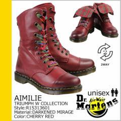 ドクターマーチン Dr.Martens 9ホール ブーツ 2WAY AIMILIE R15313601 メンズ レディース