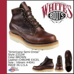 ホワイツブーツ WHITES BOOTS セミドレス 5INCH AMERICANA SEMIDRESS BOOTS 2332W Eワイズ メンズ