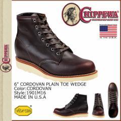 チペワ CHIPPEWA ブーツ 6インチ プレーン トゥ ウェッジ 6INCH PLAIN TOE WEDGE 61901M16 Dワイズ コードバン メンズ