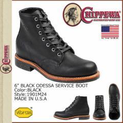 チペワ CHIPPEWA 6INCH SERVICE BOOT ブーツ 6インチ サービス ブーツ 1901M24 Dワイズ ブラック メンズ