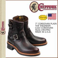 チペワ CHIPPEWA 7INCH PLAIN TOE ENGINEER ブーツ 7インチ プレーン トゥ エンジニア 1901M52 Eワイズ コードバン メンズ